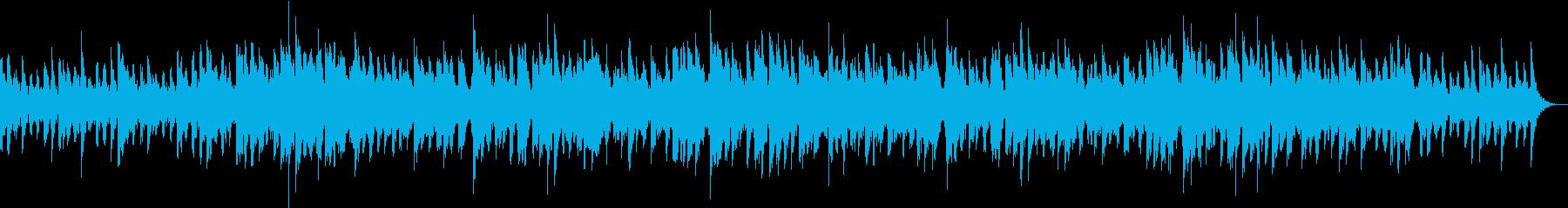 心を眠りモードへと切り替えてくれる音楽の再生済みの波形