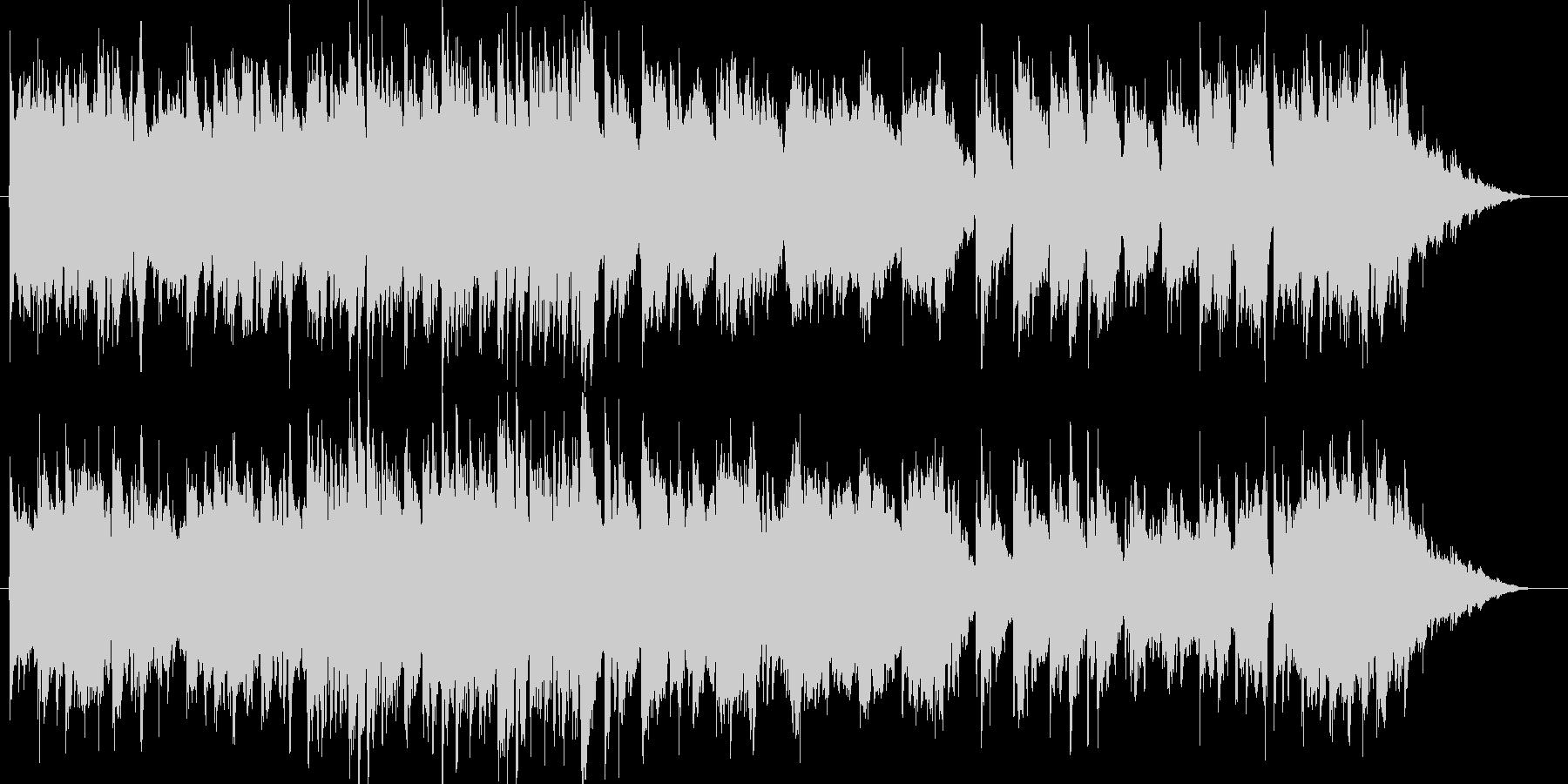 森のオーガニックギター/クラシックギターの未再生の波形