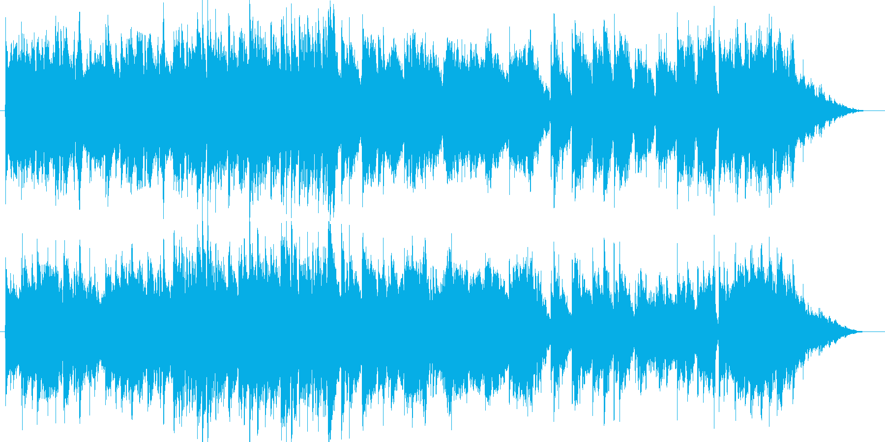 森のオーガニックギター/クラシックギターの再生済みの波形