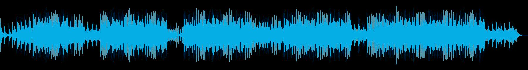 お洒落ピアノとトキメキのバーゲンハウスの再生済みの波形