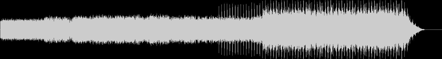 ミニマルテクノなレトロゲーム風ループの未再生の波形
