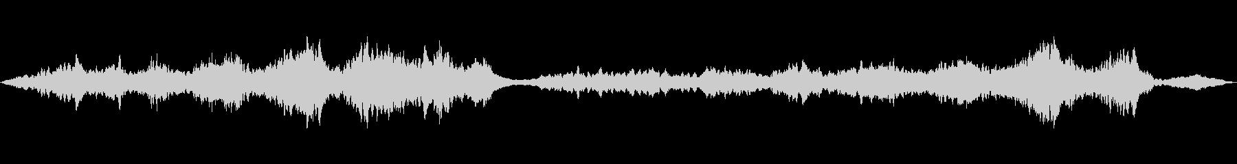DeepBlueKURAGE60アンビの未再生の波形