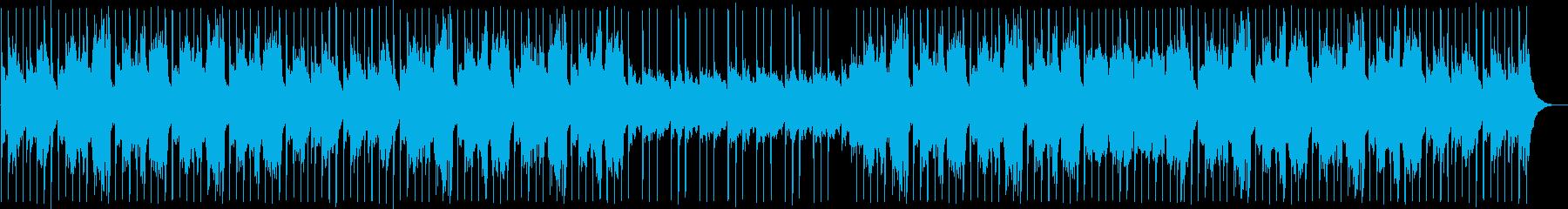 暗めでかっこいい和風ミュージックの再生済みの波形