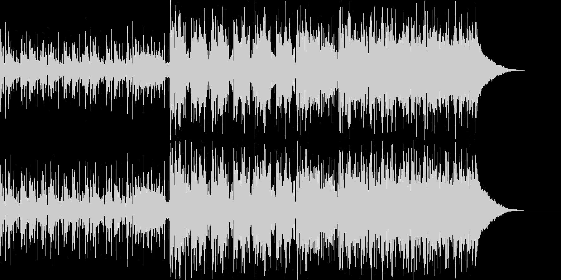 Pf「世間」和風現代ジャズの未再生の波形
