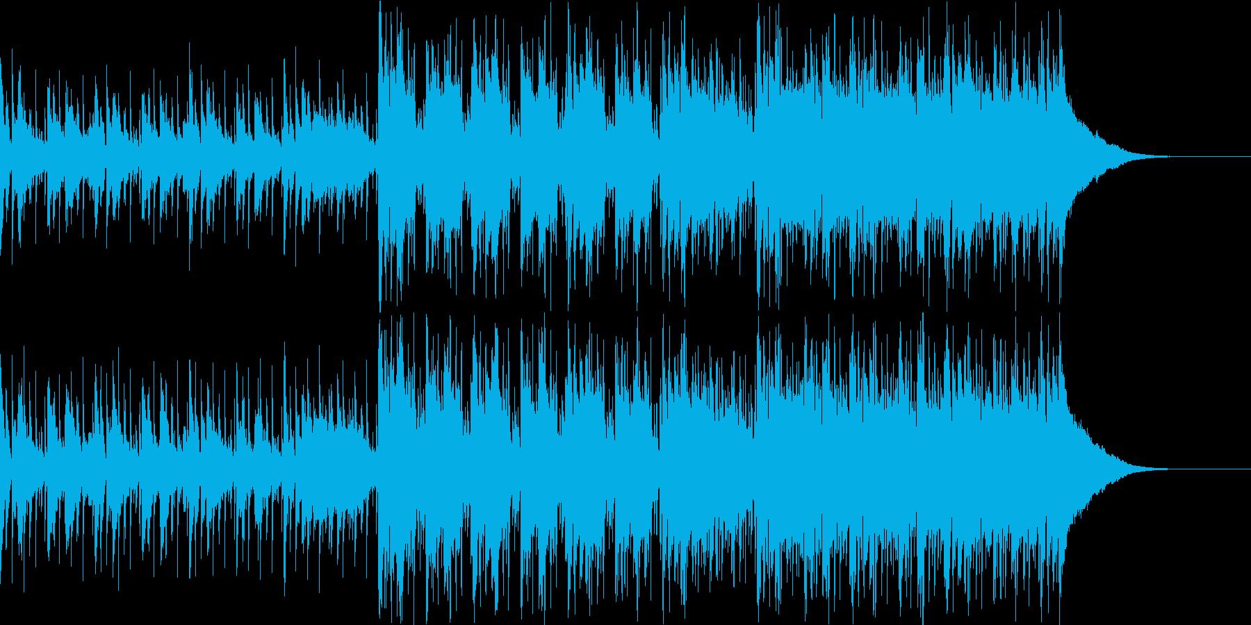 Pf「世間」和風現代ジャズの再生済みの波形