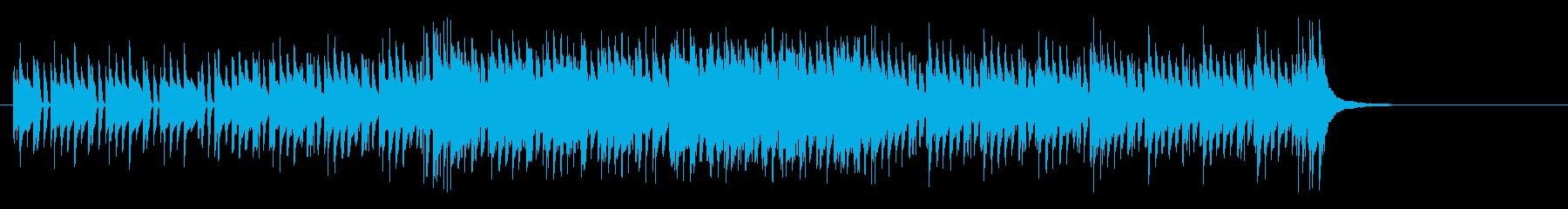 シリアスで無機質なマイナーテクノポップスの再生済みの波形