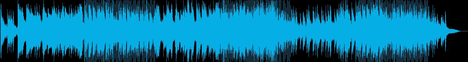 さわやかなピアノスムースジャズの再生済みの波形