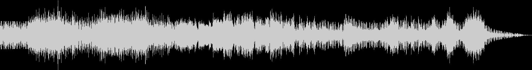 使いやすい EDM BGM の未再生の波形