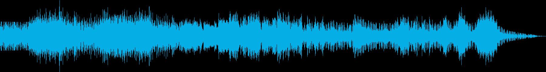 使いやすい EDM BGM の再生済みの波形