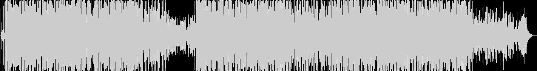 切ない感動系ヒップホップ系ピアノ曲の未再生の波形