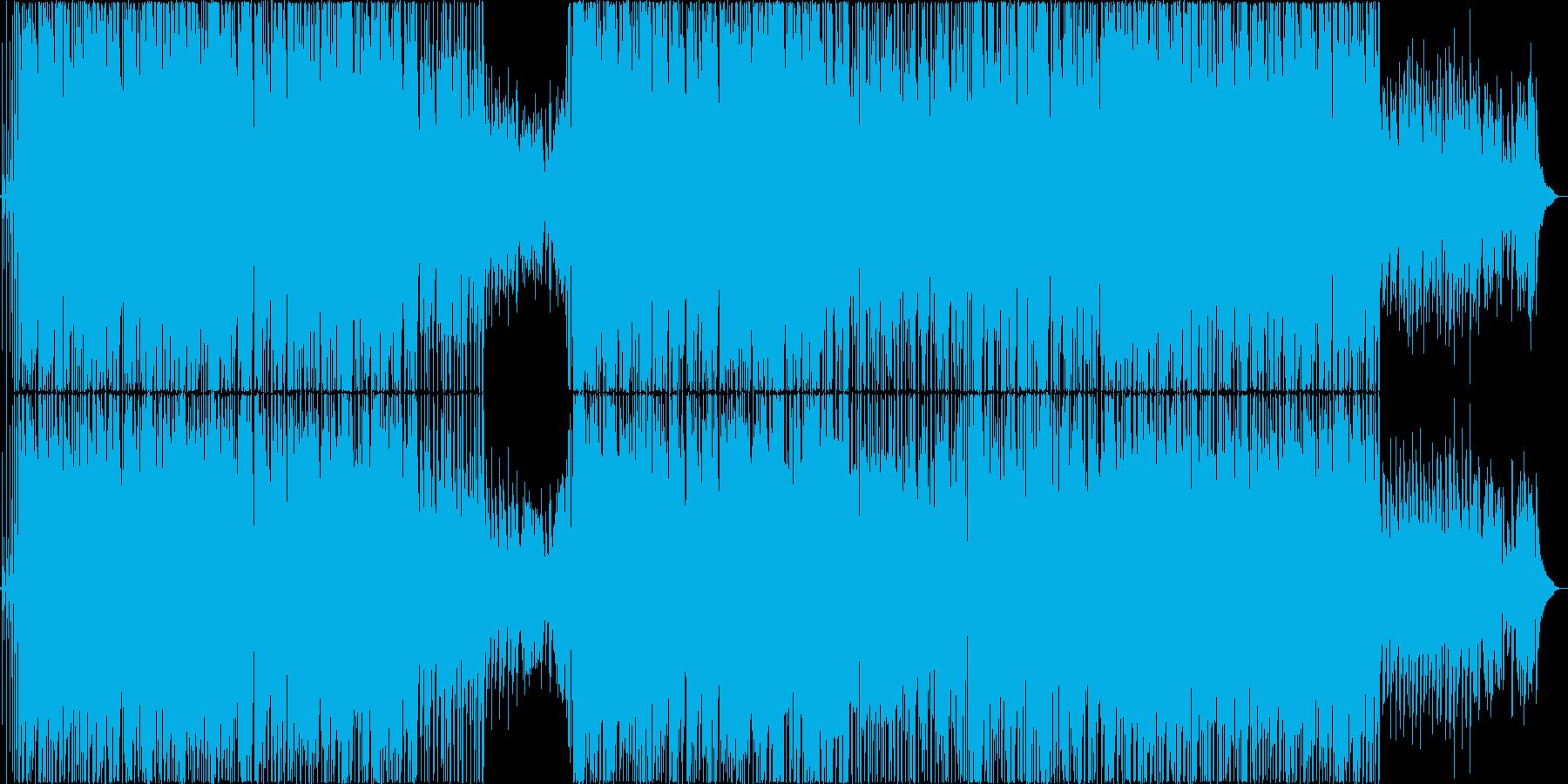 切ない感動系ヒップホップ系ピアノ曲の再生済みの波形