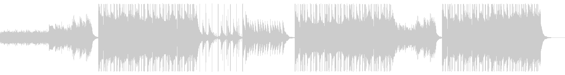 INDIE POP/切ないギターとピアノの未再生の波形