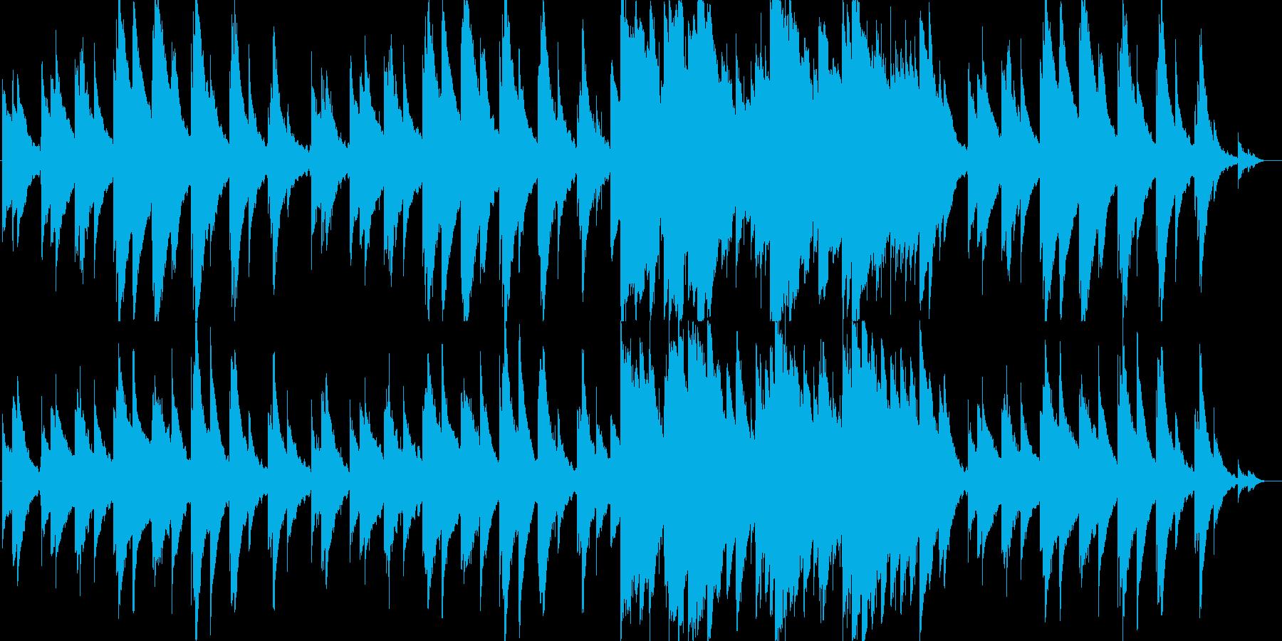 雪深い森の夜をイメージした楽曲です。頼…の再生済みの波形