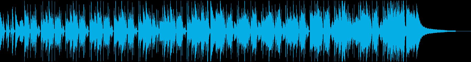 情緒あふれる、しなやかなボサノバの再生済みの波形