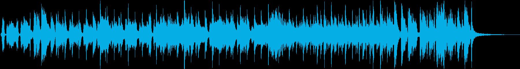 やきとりをテーマにした楽曲の再生済みの波形