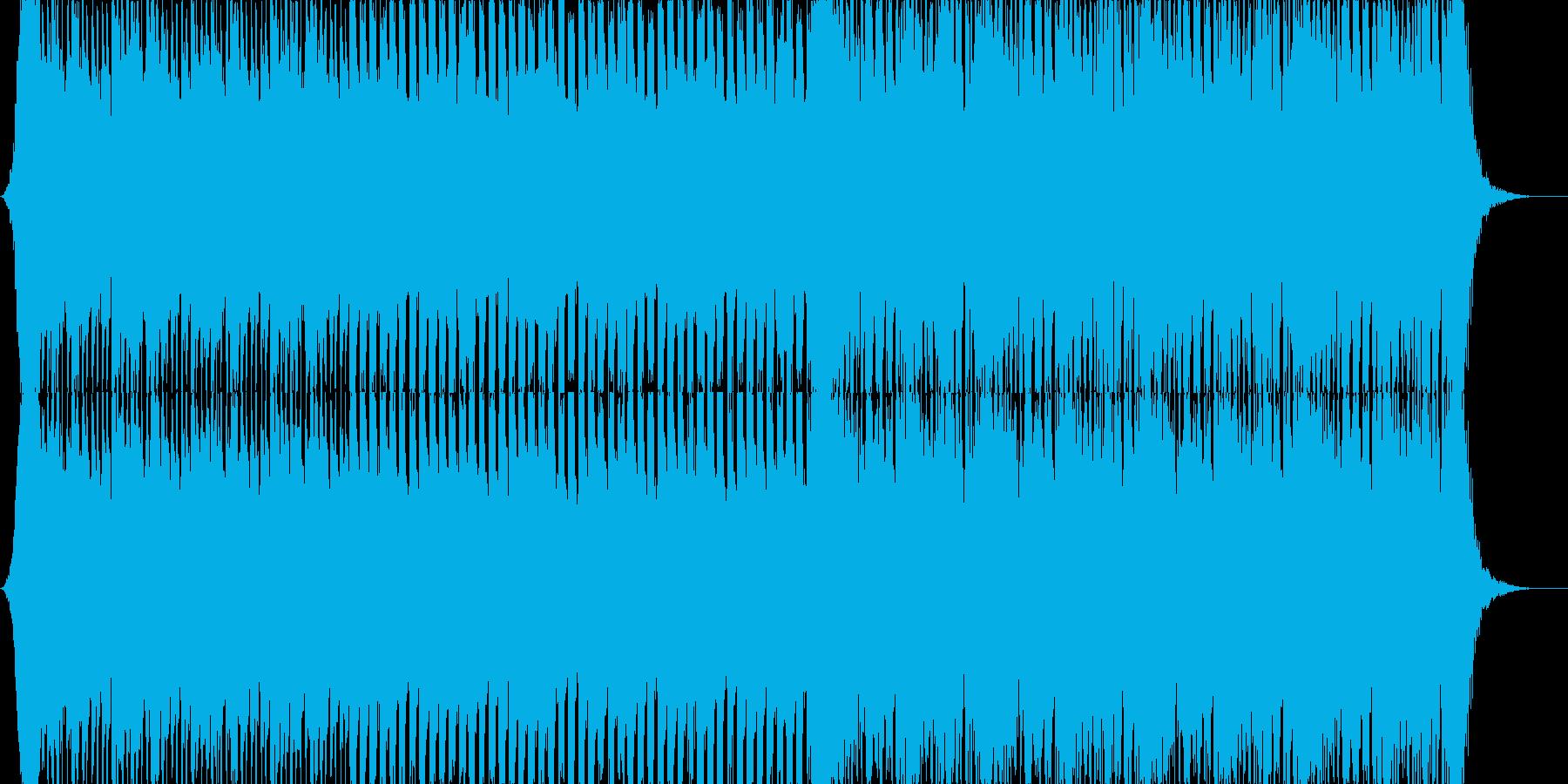勢いを出すシーンに使用して頂ければ。の再生済みの波形