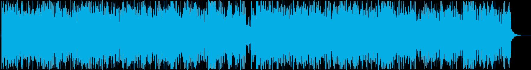 切ないR&B調バラードの再生済みの波形