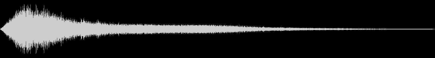 シャキーン キラーン☆強烈な輝き!13bの未再生の波形