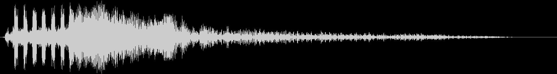【映画・タイトル】ロゴ画面に合うSEの未再生の波形