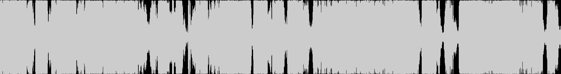 ウィーンガガガ。工事現場の音(長め)の未再生の波形