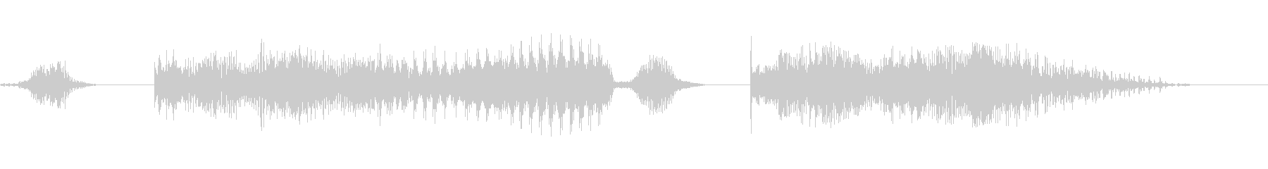 どっこいしょー!!×2 男性和風掛け声の未再生の波形