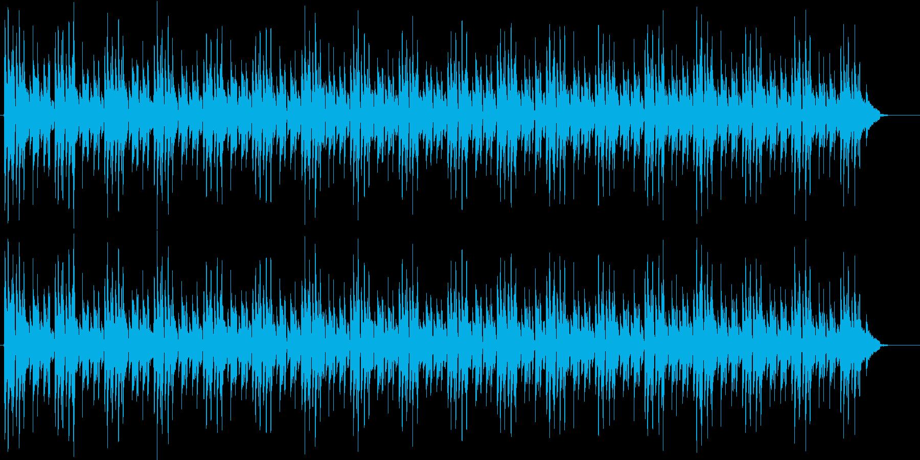 ミニマル シンプルなボサノバギター演奏の再生済みの波形