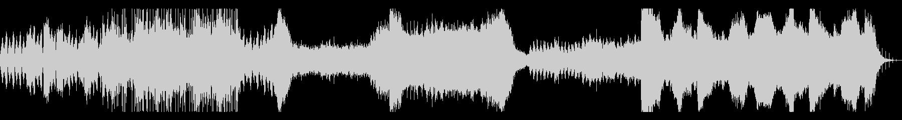 ウェット感のあるアンビエント系BGMの未再生の波形