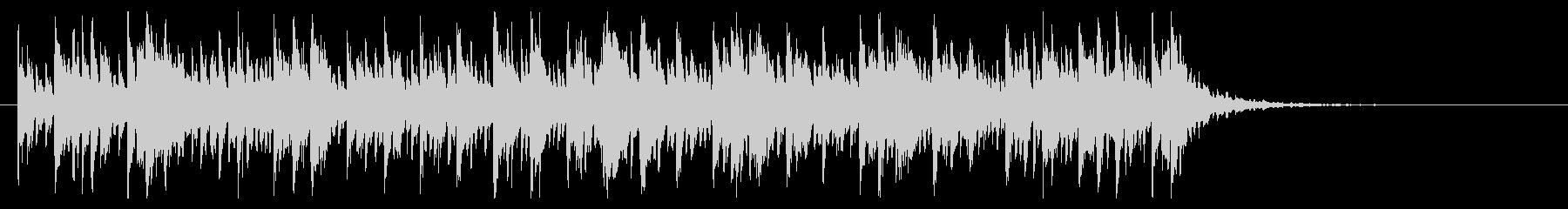 不思議でかわいくポップなBGM(短曲)の未再生の波形