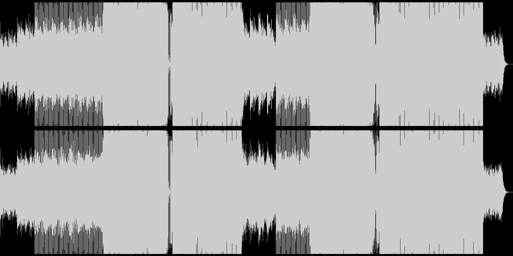 定番EDM 夏 アンセム エレクトロの未再生の波形