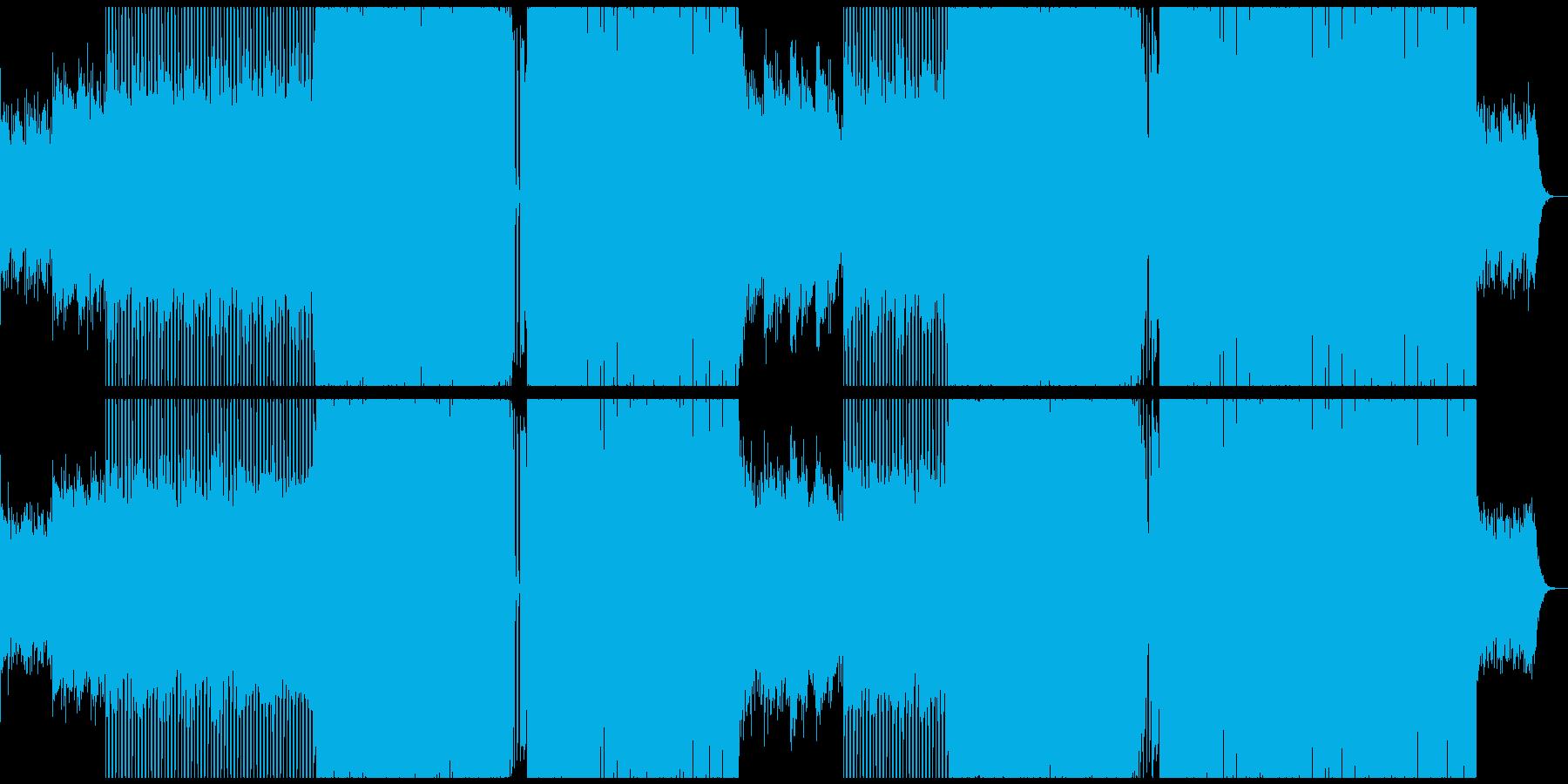 定番EDM 夏 アンセム エレクトロの再生済みの波形