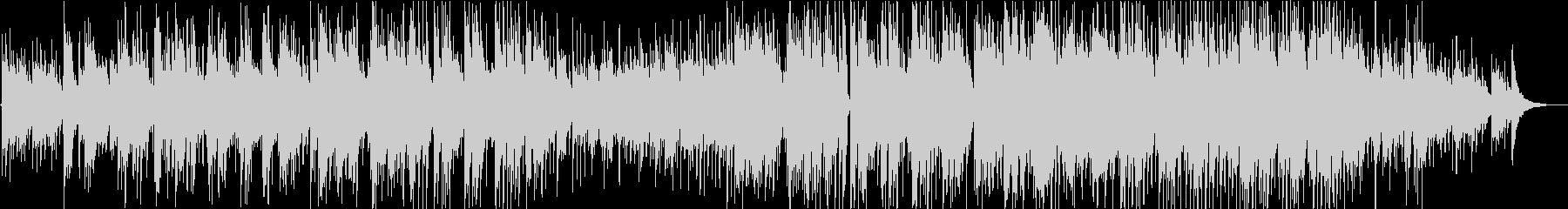 アコギとピアノのバラードの未再生の波形
