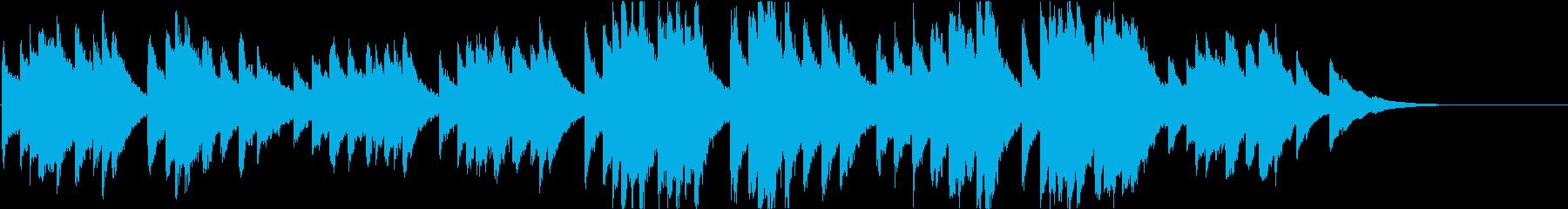 時報・チャイム風の名曲のメロディ・15の再生済みの波形