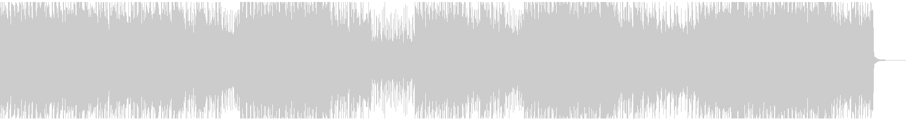 爽やかなロック/エレキギター/ピアノの未再生の波形