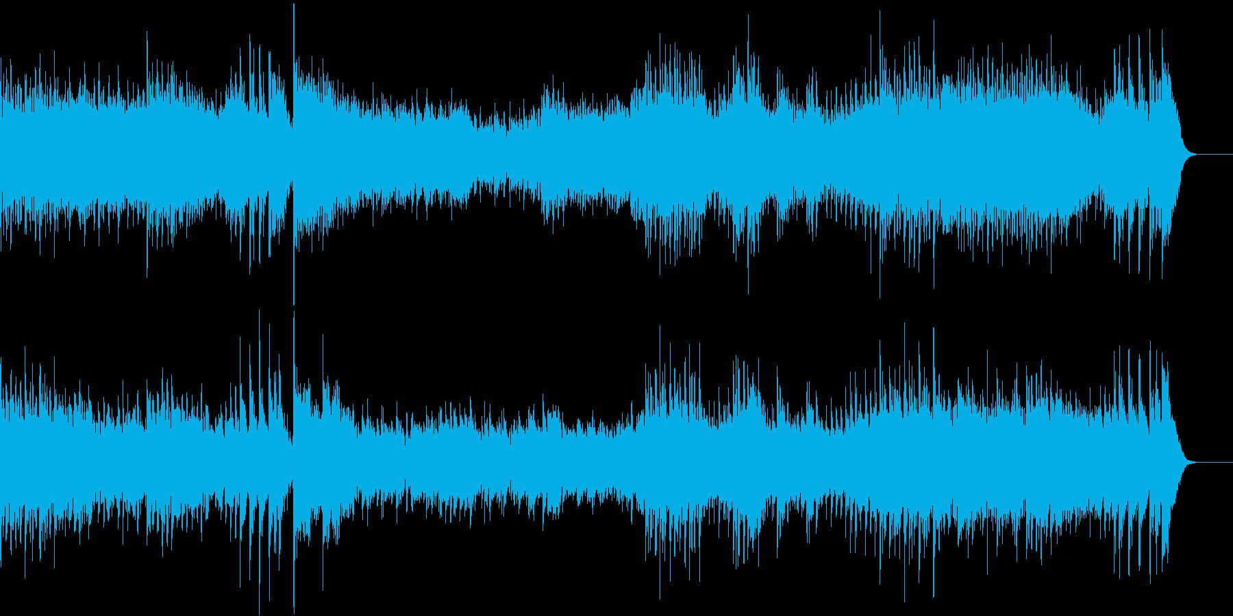 高貴で感傷的なワルツより第一楽章の再生済みの波形