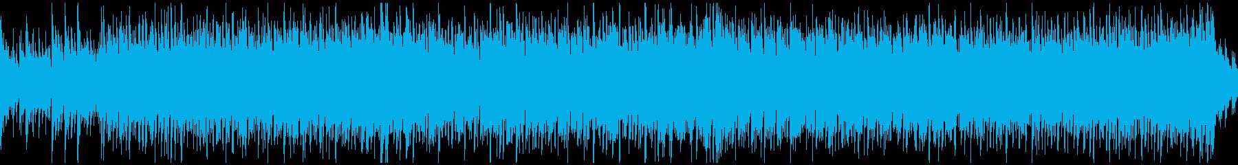ノリノリで元気なウクレレ曲 ※ループ版の再生済みの波形