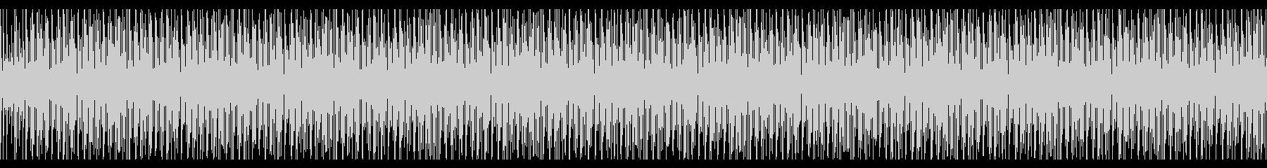 トークの後ろで流れそうなBGMの未再生の波形