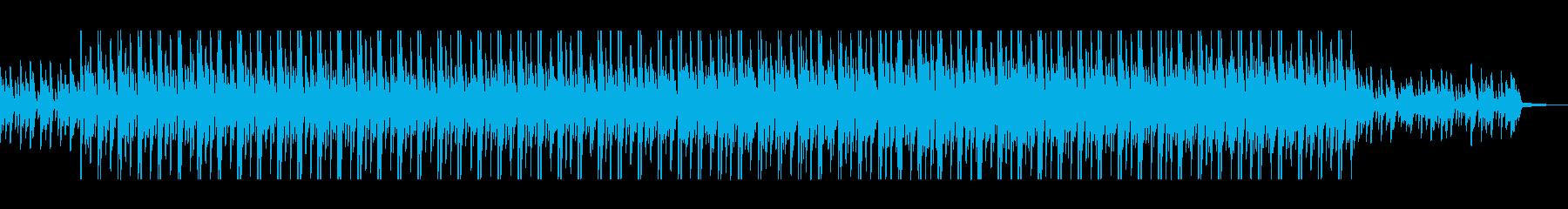 キラキラ、クールなエレクトロニカの再生済みの波形