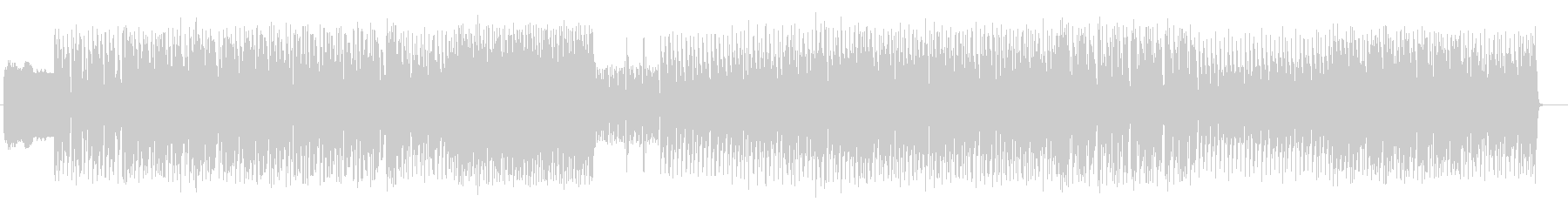 リズムが楽しいデジロックの未再生の波形