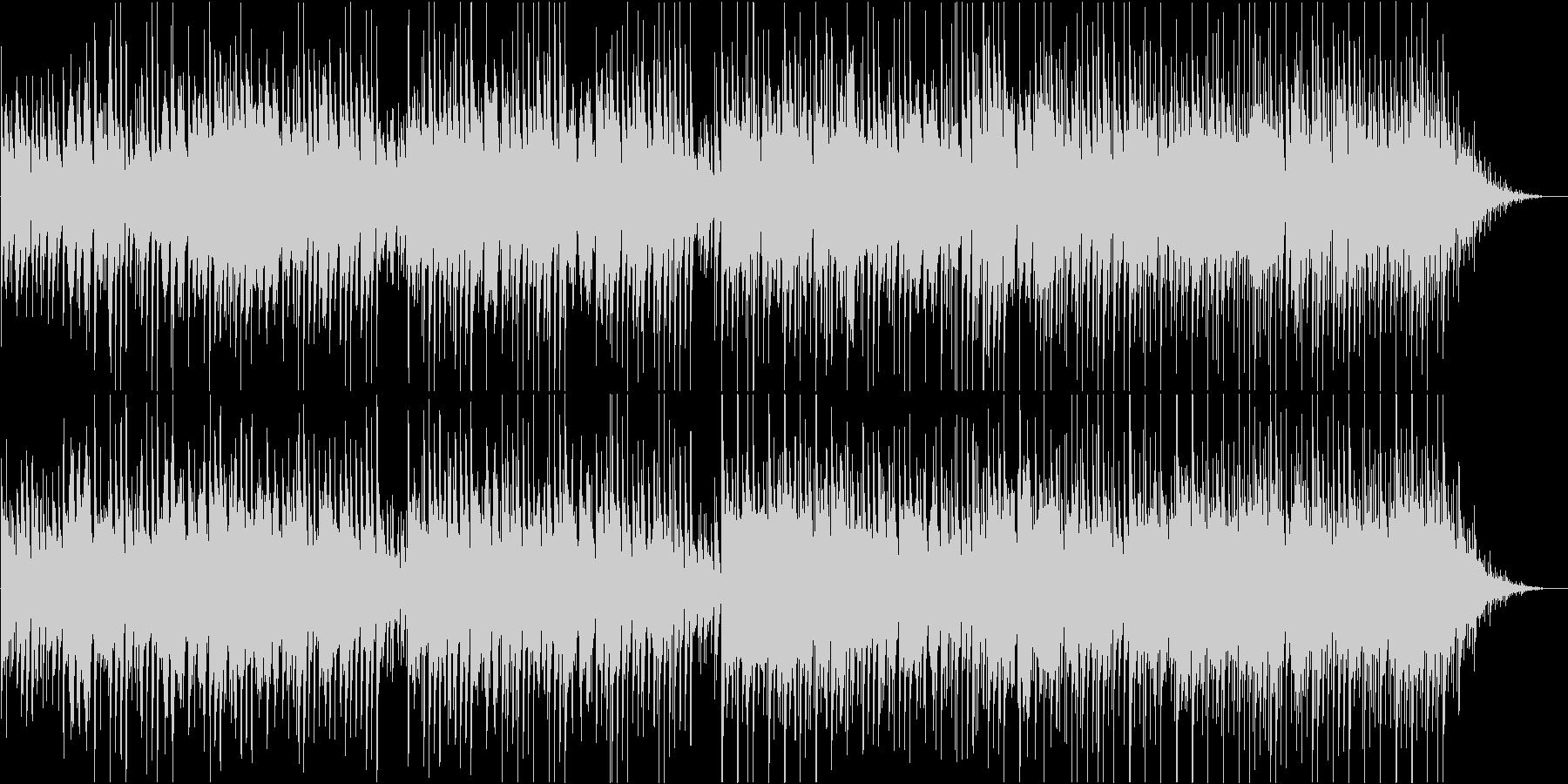 アコギメインのノスタルジックBGMの未再生の波形