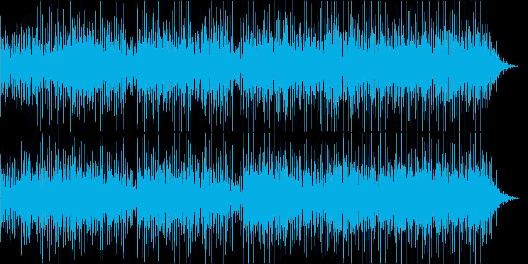 アコギメインのノスタルジックBGMの再生済みの波形