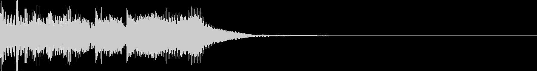ファミコン風 レトロ ファンファーレ Hの未再生の波形