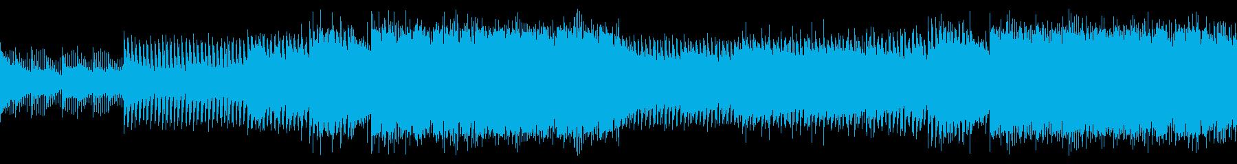 【ループ版】EDM 爽やか・疾走感の再生済みの波形
