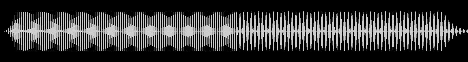 さまざまなピッチでの複数のインター...の未再生の波形