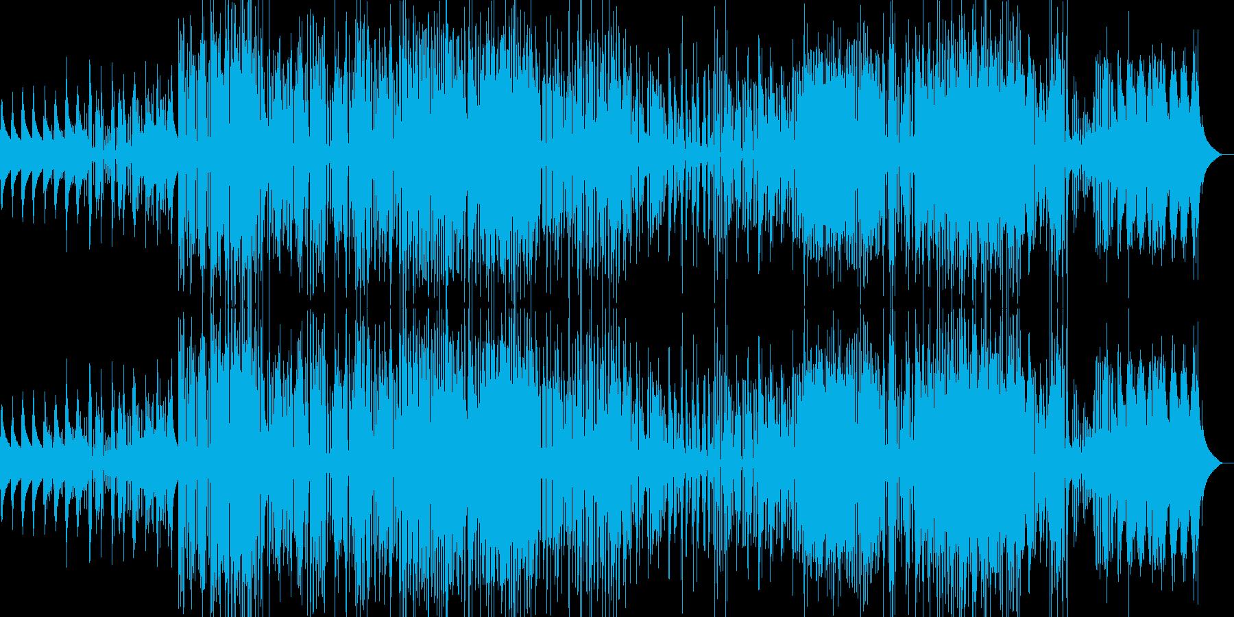 ジャズとファンク。ジャングル。スイ...の再生済みの波形