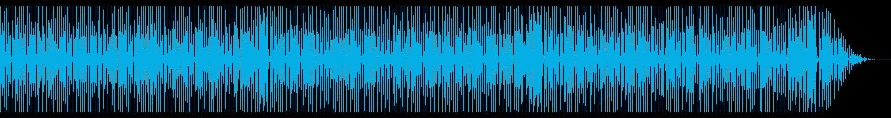 ほのぼの かわいい とぼけた感じの再生済みの波形