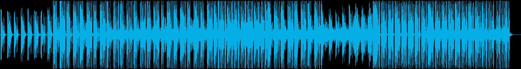 90's洋楽ドラムンベース 都会の孤独感の再生済みの波形