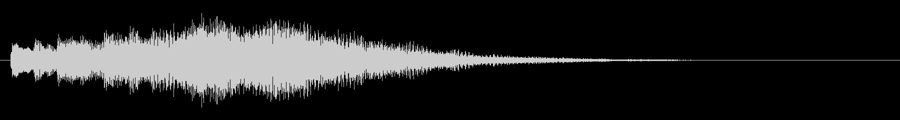 KANTアプリジングル201231の未再生の波形