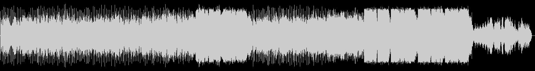 オルガンがメインのソウルバラードの未再生の波形