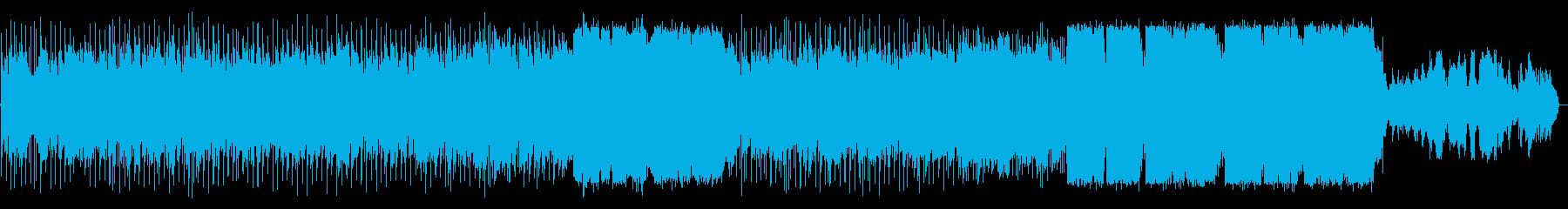 オルガンがメインのソウルバラードの再生済みの波形