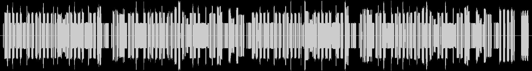8bit風ブルースBGMの未再生の波形